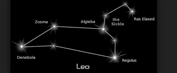Съзвездие Лъв, зодия Лъв, планети, звезди