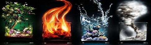 зодия Риби, Водна триада, водни знаци