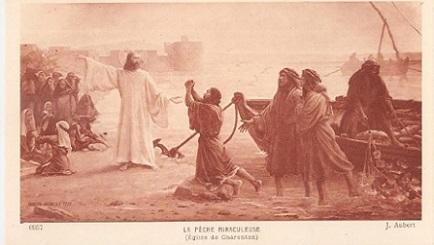 зодия Риби, Христос, рибари, притча